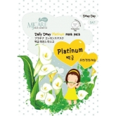 Листовая маска с платиной Mijin Cosmetics Mj Care Daily Dewy Platinum Mask Pack