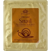 Улиточная антивозрастная маска Royal Skin 24K Gold Snail Bio Cellulose Mask Sheet