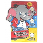 Патчи для носа от черных точек Baviphat Urban Dollkiss 3-STEP Elephant Nose Pack