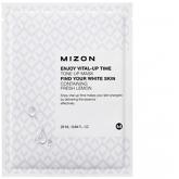 Тканевая осветляющая маска Mizon Enjoy Vital Up Time Tone Up Mask