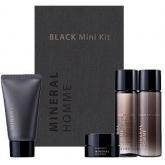 Набор для мужчин обогащенный минералами The Saem Mineral Homme Black Mini Kit