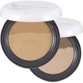 Пудра-бронзатор оттеночная The Face Shop Dual Shading Pact