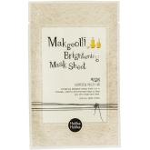 Тканевая маска с рисовым вином Holika Holika Makgeolli Brightening Mask Sheet