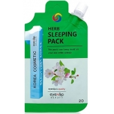 Ночная маска Eyenlip Pocket Pouch Line Herb Sleeping Pack