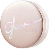 Тональный кушон с 4 видами гиалуроновой кислоты Missha Glow Tension SPF50+ PA+++