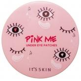 Гидрогелевые патчи с персиковой водой и ниацинамидом It's Skin Pink Me Under Eye Mask