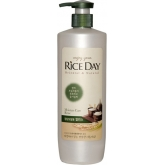 Увлажняющий бальзам для волос с экстрактом рисовых отрубей CJ Lion Rice Day Rinse for Normal Hair