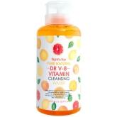 Очищающая вода с витаминным комплексом FarmStay Pure Natural DR V-8 Vitamin Cleansing Water