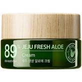 Крем для лица с алоэ The Saem Jeju Fresh Aloe Cream