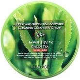 Крем для снятия макияжа с экстрактом зеленого чая Lebelage Green Tea Moisture Cleaning Cleansing Cream