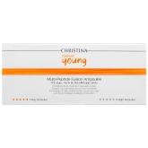 Ампулы с сывороткой для омоложения кожи Christina Forever Young Multi-Peptide Fusion Ampoules