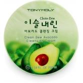 Очищающий крем с экстрактом авокадо Tony Moly  Clean Dew Avocado Cleansing Cream