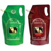 Лечебная маска для ламинирования Lombok Lentisk Treatment Color Cream