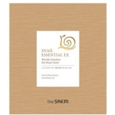 Улиточная антиэйдж-маска The Saem Snail Essential EX Wrinkle Solution Gel Mask Sheet