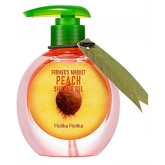 Гель для душа персиковый Holika Holika Farmer's Market Peach Shower Gel