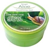 Успокаивающий гель для тела Missha Snail Aloe Soothing Gel