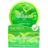 Массажный очищающий крем Deoproce Premium Clean & Moisture Green Tea Massage Cream