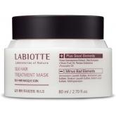Восстанавливающая маска для кожи головы и волос Labiotte Silk Hair Treatment Mask