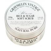 Мягкий скраб с сахаром и рисом Graymelin Rice And Sugar Soft Scrub