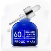 Комплекс гиалуроновой кислоты 60% в ампуле Proud Mary Hyaluron Complex Ampoule 60%