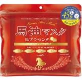 Маска для лица с конским жиром и плацентой Alovivi Horse Oil Essence Face Mask