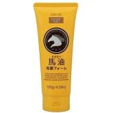 Пенка для умывания с лошадиным маслом Kumano Cosmetics Deve Natural Oil