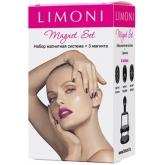 Набор для создания 3D узора на ногтях Limoni Magnet Set
