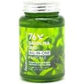 Сыворотка с экстрактом зеленого чая Farmstay 76 Green Tea All In One Ampoule
