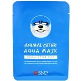 Увлажняющая маска для лица SNP Animal Otter Aqua Mask