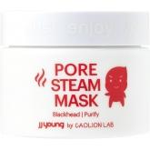 Разогревающая маска против чёрных точек JJ Young Pore Steam Mask