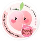 Гидрогелевые патчи для век и щёк L'arvore Hydrogel Eye and Cheek Petit Peach Patch