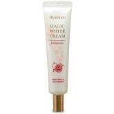 Крем для лица осветляющий антивозрастной с экстрактом граната Deoproce Magic White Cream Pomegranate