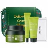 Увлажняющий набор средств с зеленым чаем Tony Moly The Chok Chok Green Tea Safe Hydration Kit