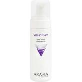 Очищающая крем-пенка Aravia Professional Vita-C Foaming