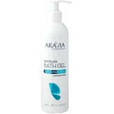 Очищающий гель для ног с морской солью Aravia Professional Pedicure Bath Gel