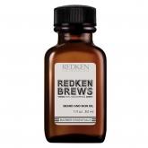 Масло для бороды Redken Brews Beard And Skin Oil