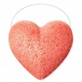 Органический спонж конняку с розовой глиной Beautific Glow Sponge For Dull And Tired Skin