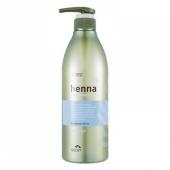 Увлажняющий шампунь с хной и керамидами Flor de Man Henna Hair Shampoo