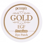 Локальные патчи для век Petitfee Hydro Gel Eye Patch Premium Gold and EGF