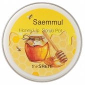Медовый скраб для губ The Saem Saemmul Honey Lip Scrub Pot