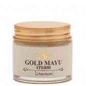 Омолаживающий крем с лошадиным жиром Berrisom Gold Mayu Cream