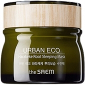 Ночная маска для лица  The Saem Urban Eco Harakeke Root Sleeping Mask