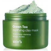 Глиняная маска Skin79 Green Tea Purifying Clay Mask