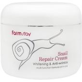 Антивозрастной крем с улиткой FarmStay Snail Repair Cream
