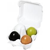 Органическое мыло '3 в 1' для лица - 4 вида Holika Holika Egg Soap Special Set