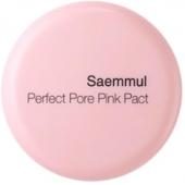 Розовая пудра для проблемной кожи с каламином The Saem Saemmul Perfect Pore Pink Pact