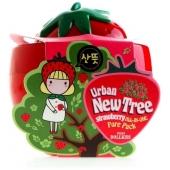 Клубничная очищающая маска Baviphat New Tree Strawberry All-In-One Pore Pack
