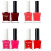 Набор лак для ногтей, блеск для губ и румяна The Saem Kiss And Blush Lacquer And Kissholic Nails