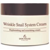 Улиточный крем The Skin House Wrinkle Snail System Cream