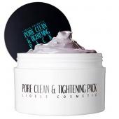 Маска поросужающая Lioele Pore Clean & Tightening Pack